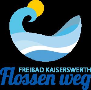 Logo Flossen weg Förderverein Freibad Kaiserswerth