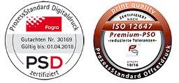Logos PSD und SO
